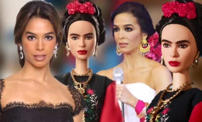 Mattel intenta crear Barbie de Frida Kahlo ¡y le sale Bibi Gaytán! (FOTOS)