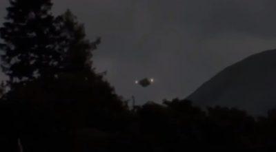 Camarógrafo difunde video sobre la llegada de un OVNI