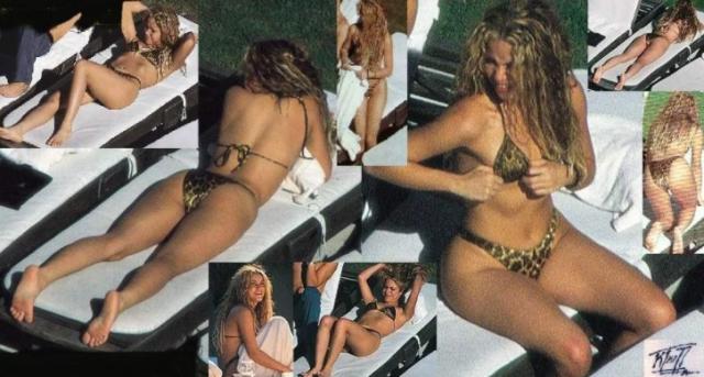 Entallado Bikini De A Captan Con LeopardofotosNoticias Shakira CthsQrd