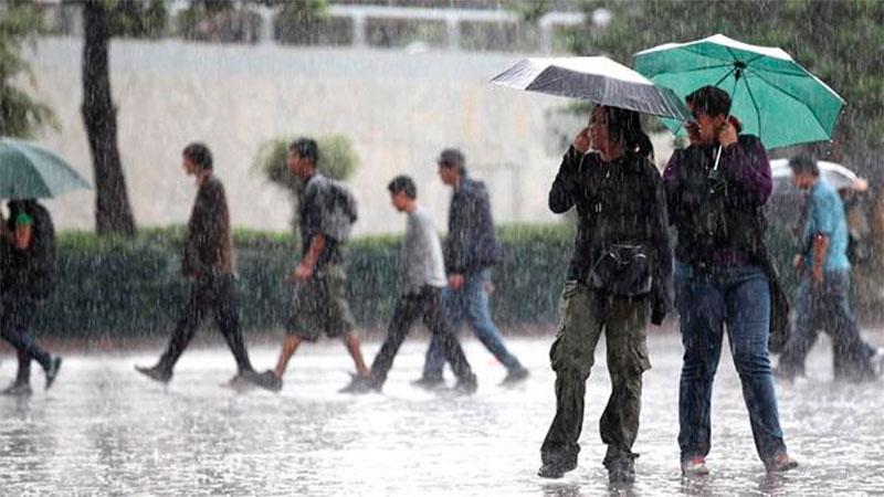 Anuncian frente No. 46 con posibilidades de lluvias para hoy y mañana en el país