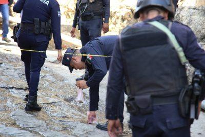 Indigna ejecución de policías por grupo criminal (VIDEO)