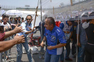 Calderón asegura que quitar pensión a expresidentes es 'peligroso'