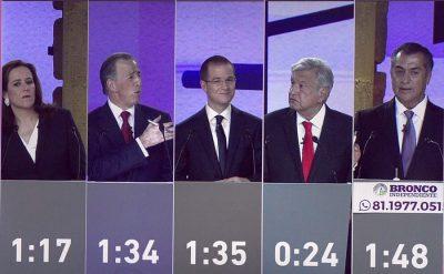 Primer debate presidencial fue el más visto en la historia: INE