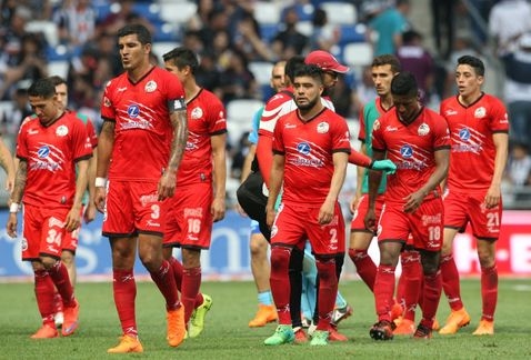Lobos BUAP desciende de Primera División contra Rayados de Monterrey