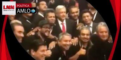 'Staff' del debate presidencial muestra su apoyo a AMLO (VIDEO)