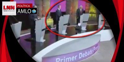 AMLO se retira al concluir debate mientras sus contrincantes se saludan y ríen