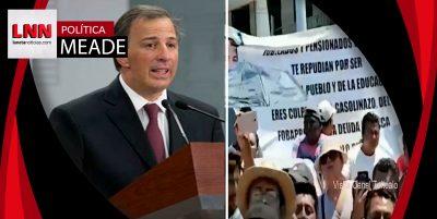 'Meade sabía que no era bienvenido en Oaxaca', asegura Navarrete Prida
