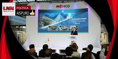 José Rosas Aispuro busca incrementar la industria aeroespacial en Durango