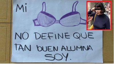 Directora humilla a joven estudiante por no llevar corpiño (FOTOS)