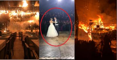 Top 5 videos inéditos del terrible incendio en la boda de Zapopan
