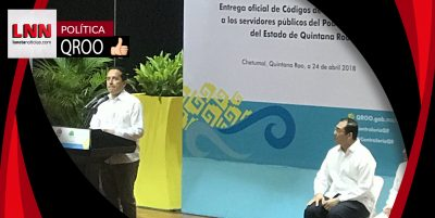 Carlos Joaquín entrega el Código de Ética para combatir la corrupción