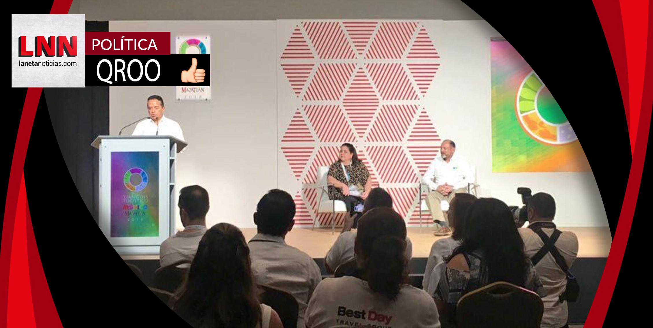 Carlos Joaquín enfrenta retos de turismo en Quintana Roo