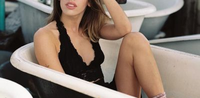 Ardiente hija de famoso actor se desnuda para Playboy (FOTOS)