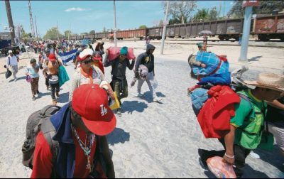 La Caravana Migrante viaja de Guadalajara a Mazatlán