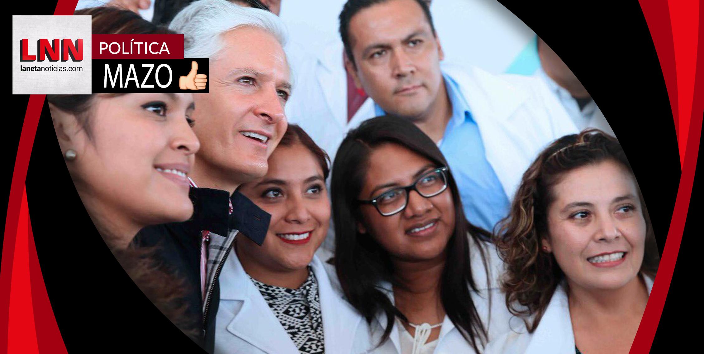 Alfredo del Mazo lanza el Sistema de Registro de Salud en Edomex
