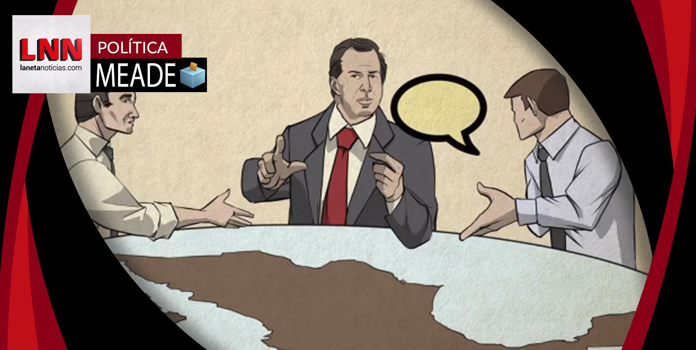 Meade habla de la importancia de pedir consejos en peculiar video