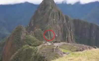 OVNI causa terror a turistas en Machu Picchu (VIDEO)