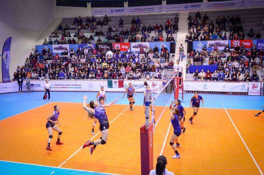 Llegan las finales de la liga de voleibol a Guadalajara