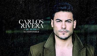 Carlos Rivera estrena el sencillo 'Me Muero' en YouTube (VIDEO)