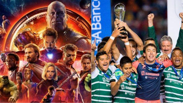 Conoce la insólita relación entre Santos Laguna y The Avengers (FOTO)