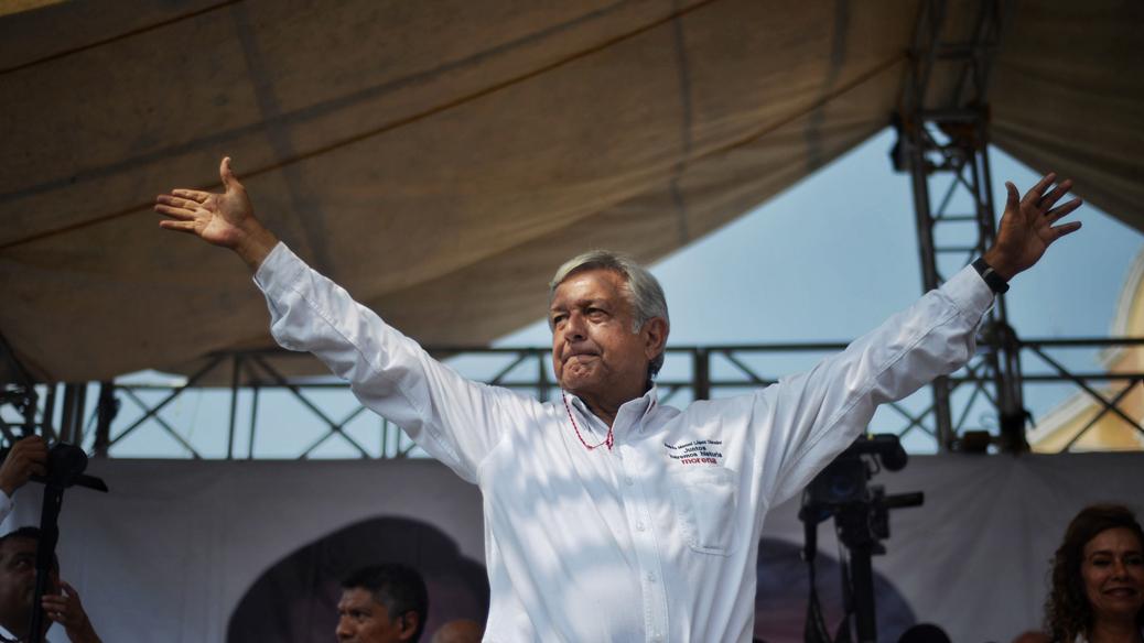 Preferencia electoral mantiene a AMLO a la cabeza
