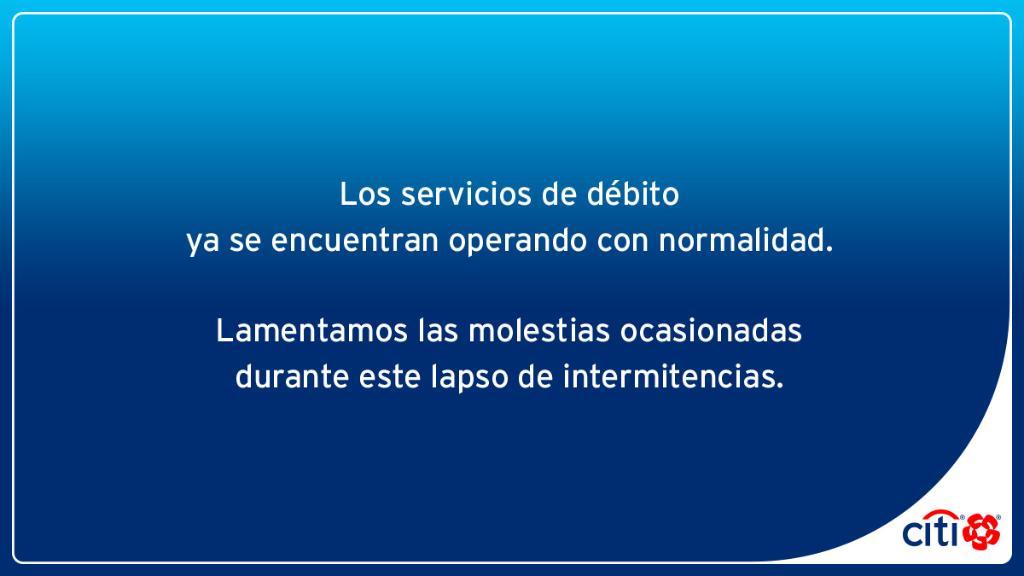 Cae sistema de Citibanamex en todo México