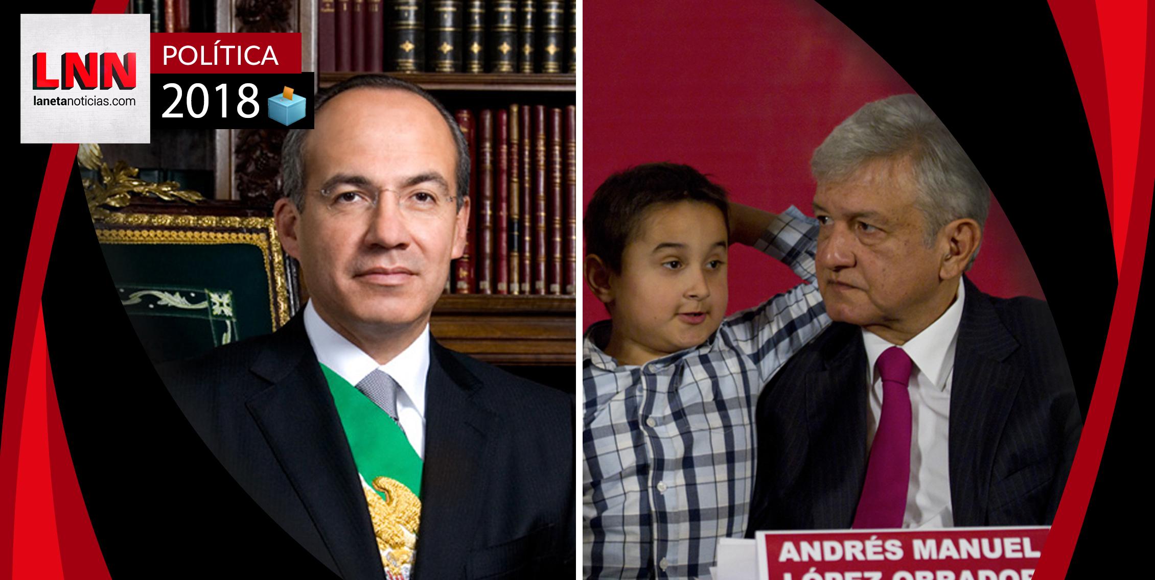 Felipe Calderón manda mensaje a AMLO relacionado con su hijo menor