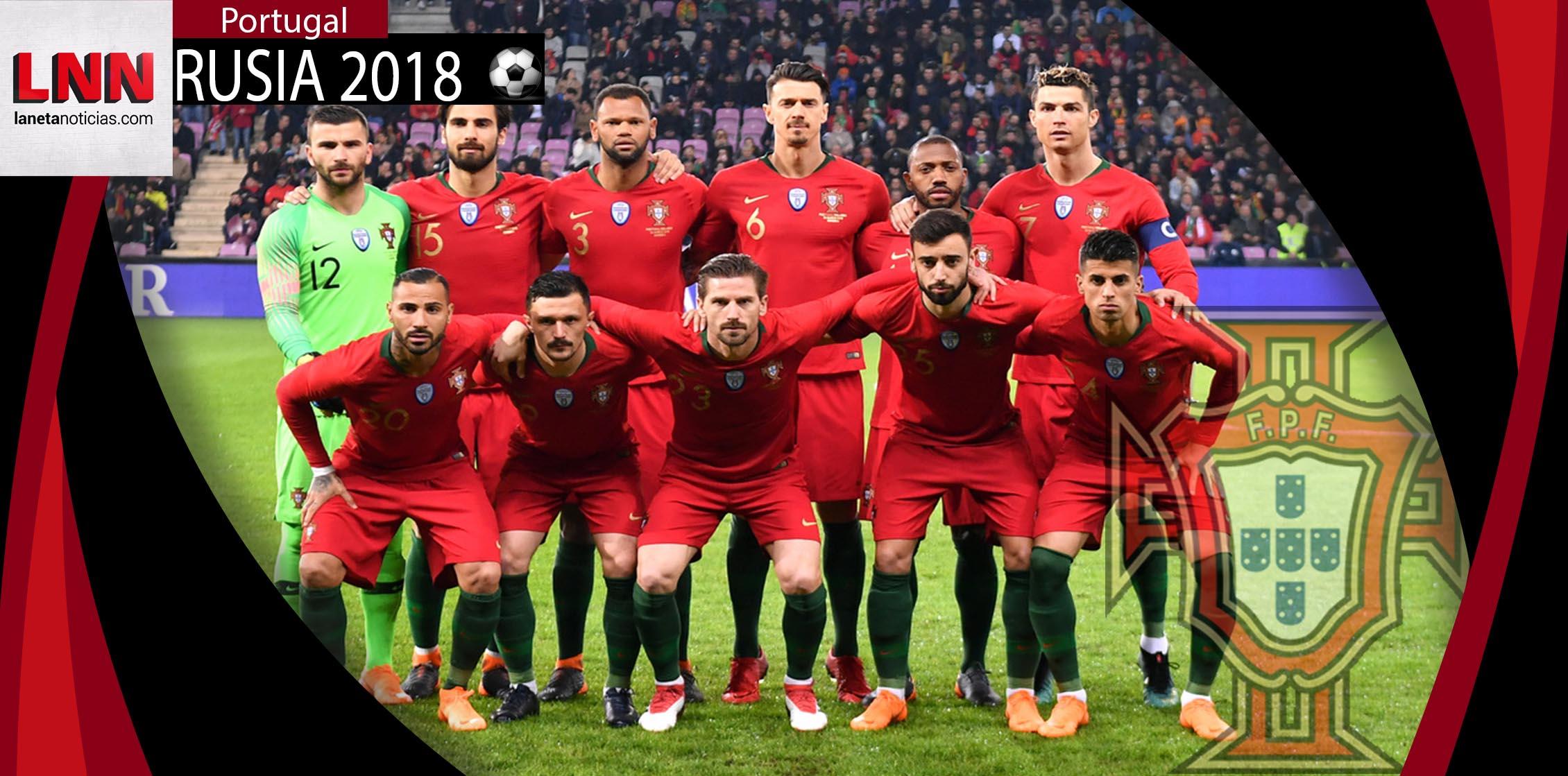 Perfiles Rusia 2018: Portugal, Cristiano al mando