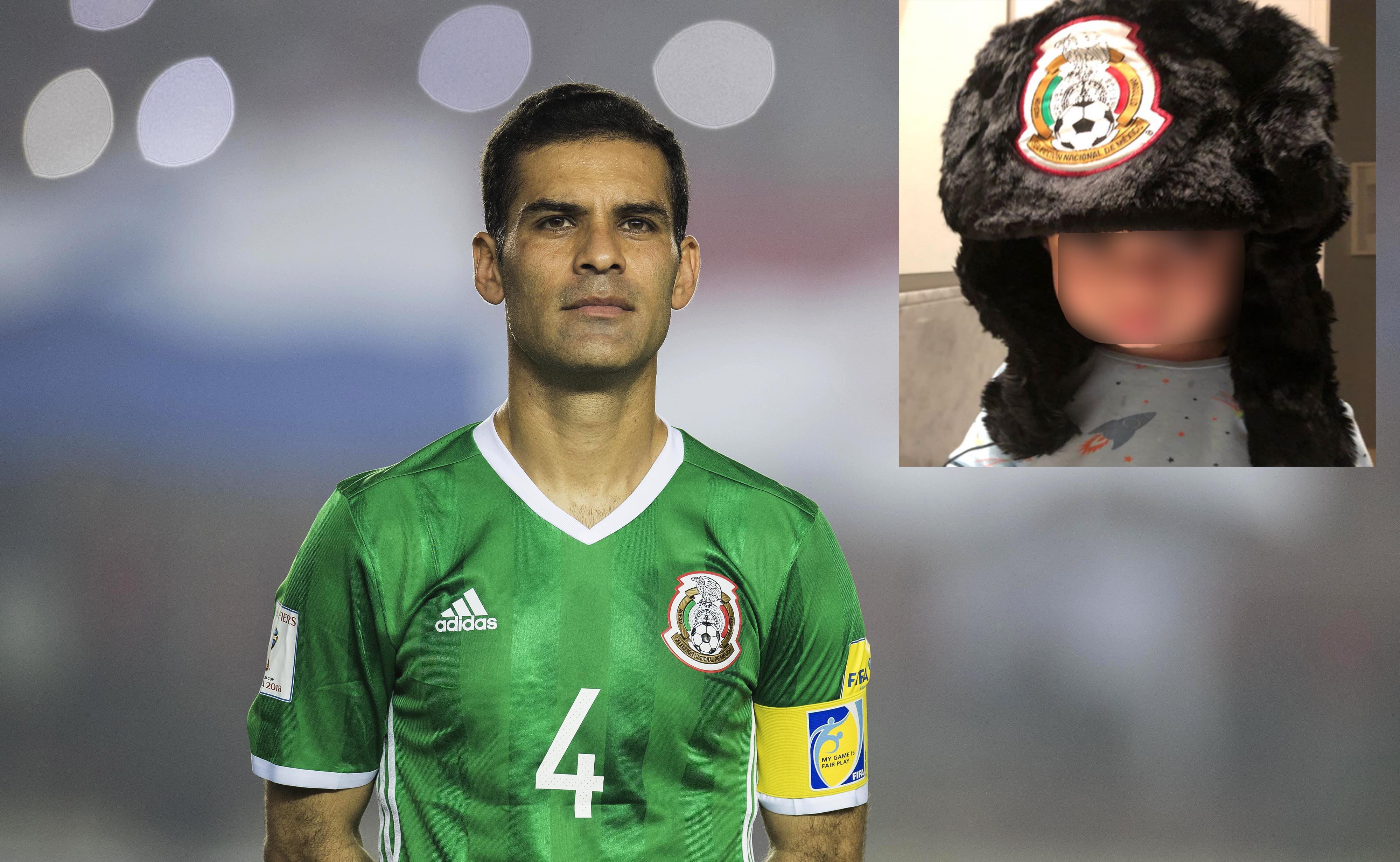 Hijo de Rafa Márquez se alista para 'jugar' el Mundial (FOTOS)