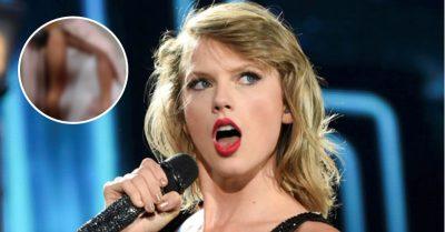 <i>Zona rosa</i>: Taylor Swift enseña su 'parte íntima' tras accidente con vestido