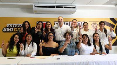 Mujeres abandonan el PRI para sumarse a Gayosso