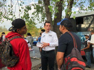 Jalisco: Miguel Castro afirma que el Peribús ayudará a 300 mil usuarios por día