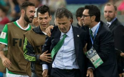 Vetan a famoso árbitro del Mundial por vendido (FOTOS)