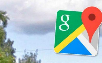Google Maps capta espeluznante figura en el cielo (FOTOS)