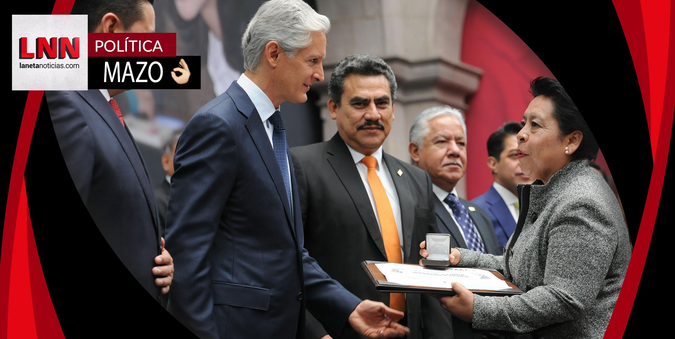 Alfredo del Mazo reconoce labor de maestros mexiquenses