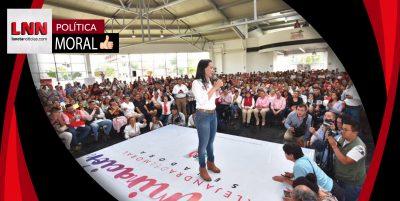 Alejandra del Moral: Izcalli estará representado dignamente en el Senado