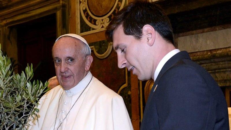 <i>¿Mano de Dios?</i>: Papa Francisco bendecirá a Argentina antes del Mundial