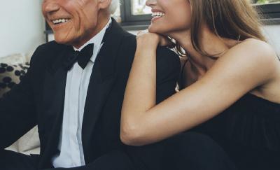 Famoso comediante se convierte en 'sugar daddy' al casarse con una jovencita