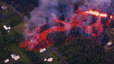 Captan brutal explosión del volcán Kilauea ¡desde el espacio! (FOTO)