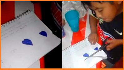 Niño escribe carta de amor y sus palabras se hacen virales por esta razón (VIDEO)
