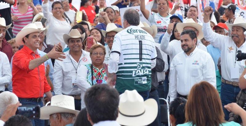Meade se inspira en estrategia del Santos Laguna para ganar la presidencia