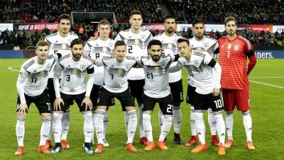 Confirman alineación de Alemania para enfrentar a México