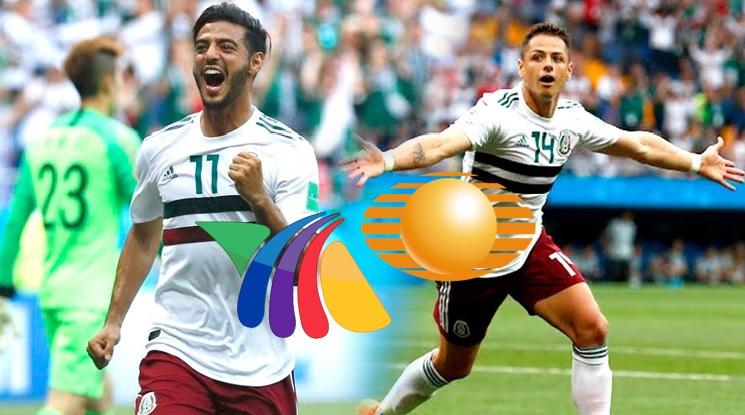 <i>Televisa vs. TV Azteca</i>: filtran niveles de audiencia del México contra Corea