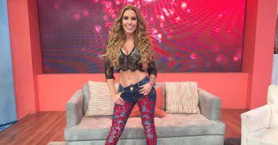 Andrea Escalona seduce en redes al apoyar a Colombia sin calzones (FOTO)