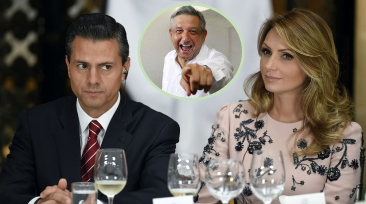 Angélica Rivera huye del país con su familia… ¿por triunfo de AMLO?