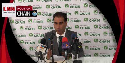 Sin declinar, Michel Chaín pide a Martha Erika adopte plataforma del PVEM