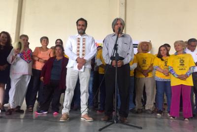 """Líderes del PRD de todo México proclaman: """"Soy PRD y estoy con AMLO"""""""