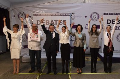 Así se vivió el tercer debate por el gobierno de la CDMX