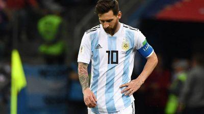 Croacia golea 3-0 a Argentina y deja a la albiceleste al borde de la eliminación