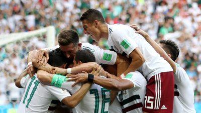 México vence 2-1 a Corea del Sur y se acerca a los Octavos de Final